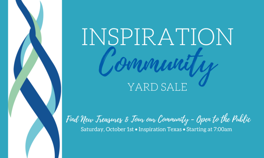 Inspiration Hosts First Annual Community Yard Sale Oct. 1
