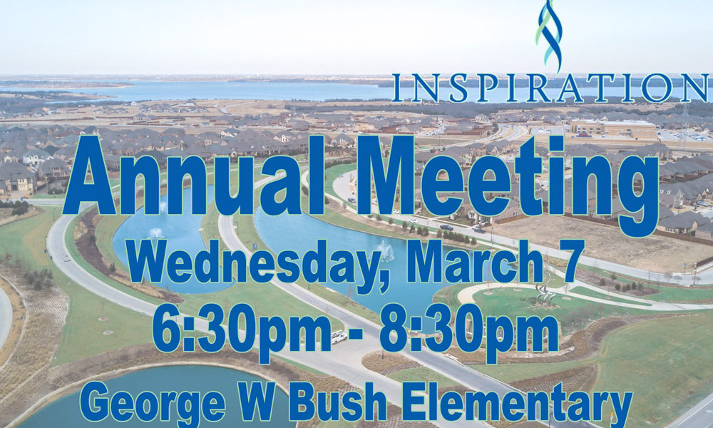 Annual Meeting- March 7, 2018