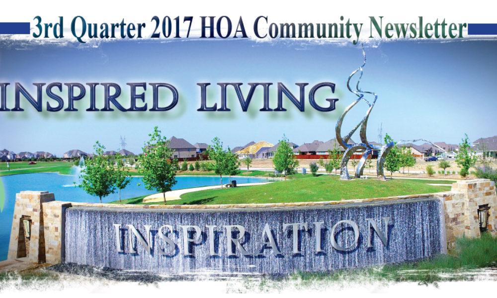 Inspired Living: A Quarterly HOA Newsletter