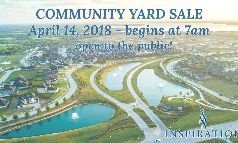 Community Yard Sale!