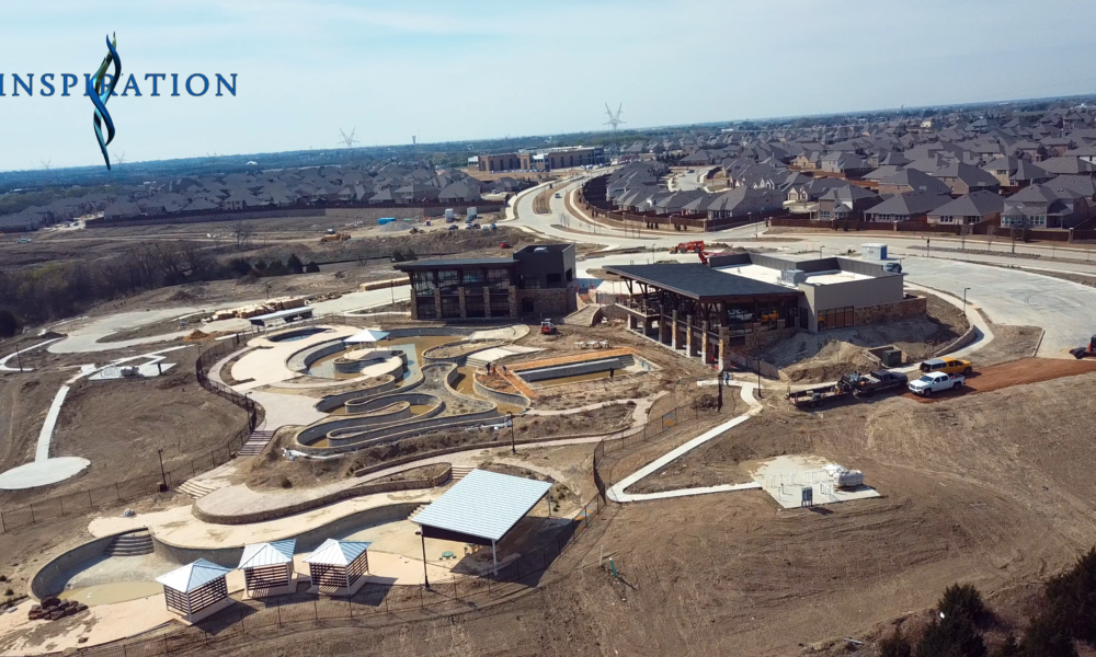 Drone Video Update Shows Club Inspiration Progress through March 2019