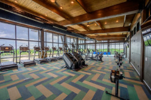 event center cardio room
