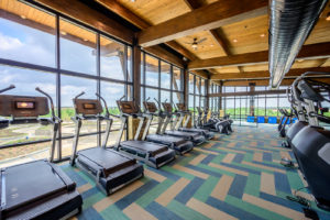 amenity center cardio room