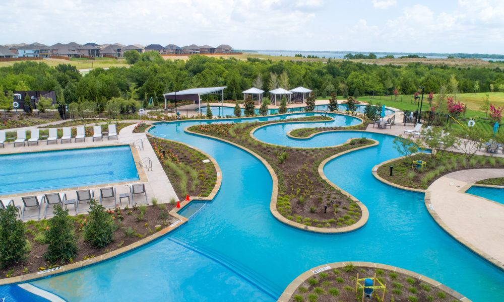 """Hilltop Community Brings """"World-Class,"""" Resort-Style Living to Collin County"""