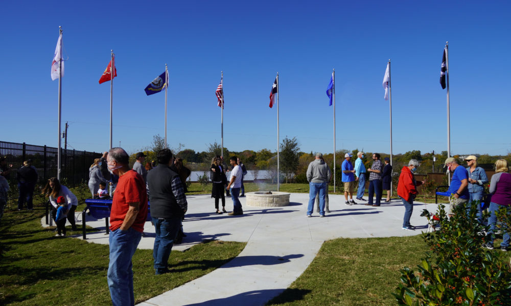 Veterans Day Ceremony held in Inspiration
